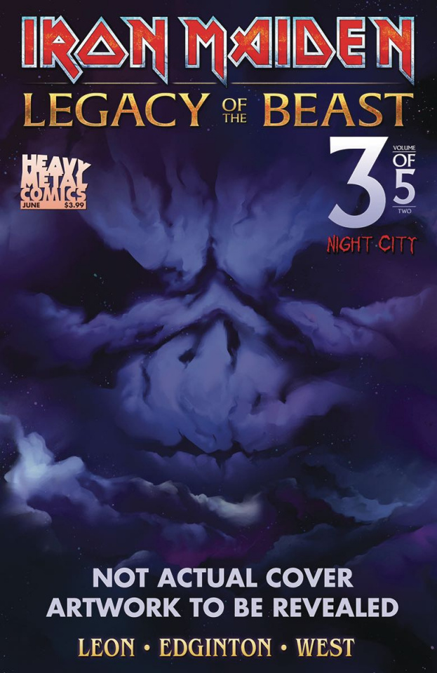 Iron Maiden: Legacy of the Beast - Night City #3 (Cover C)