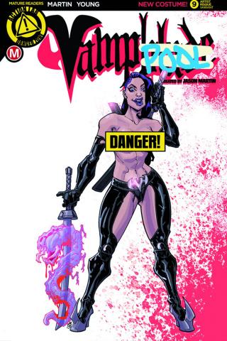 Vampblade #9 (Campos Risque Cover)