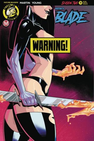 Vampblade, Season Two #11 (Federhenn Risque Cover)