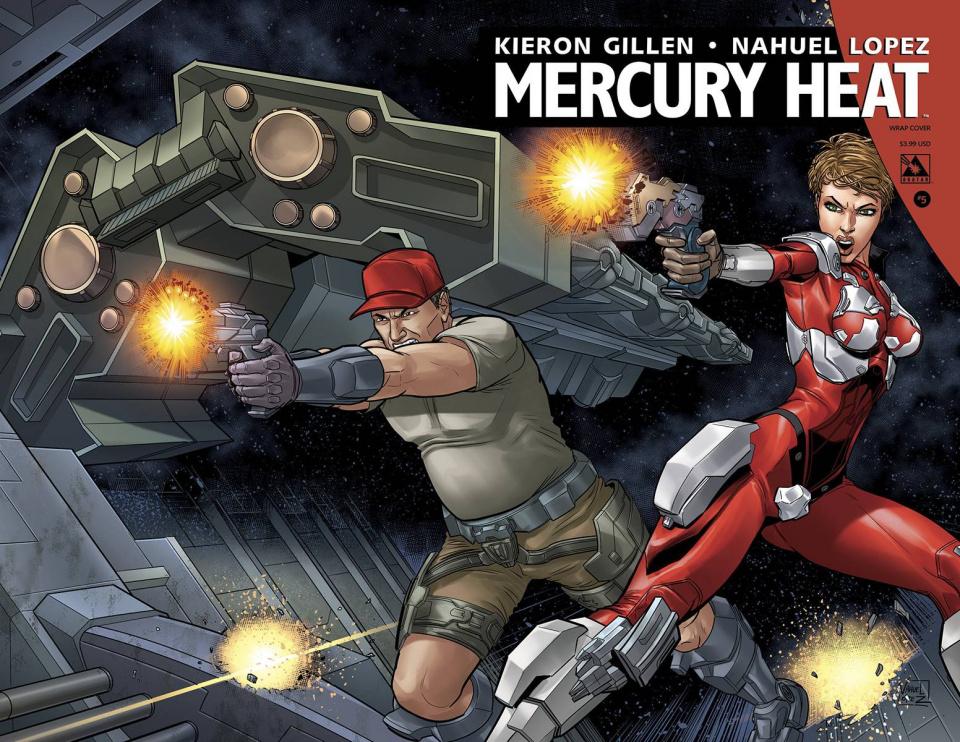 Mercury Heat #5 (Wrap Cover)