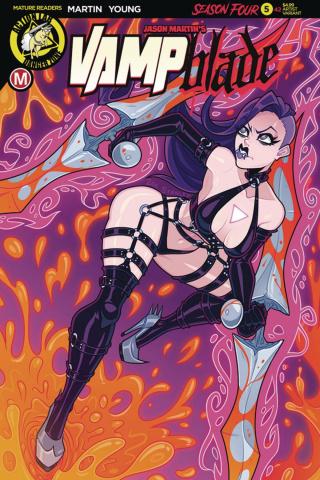 Vampblade, Season Four #5 (Brao Cover)