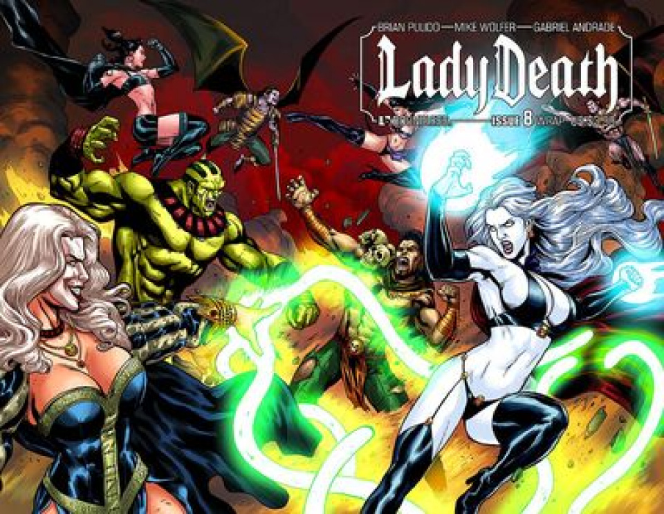 Lady Death #8 (Wrap Cover)