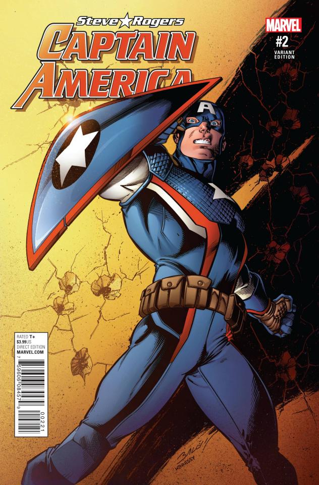 Captain America: Steve Rogers #2 (Variant Cover)