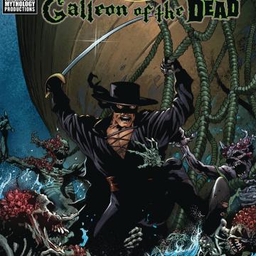 Zorro: Galleon of the Dead #2 (Martinez Cover)