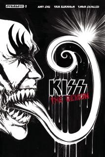 KISS: The Demon #2 (15 Copy Mandrake B&W Cover)