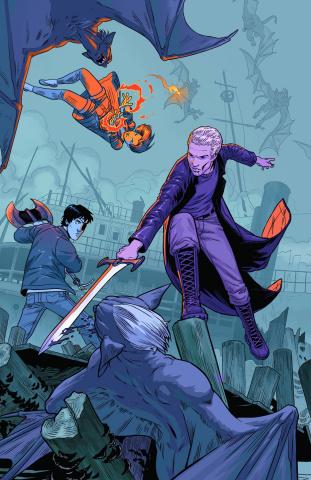 Buffy the Vampire Slayer, Season 10 #16 (Isaacs Cover)