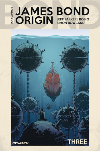 James Bond: Origin #3 (Moustafa Cover)