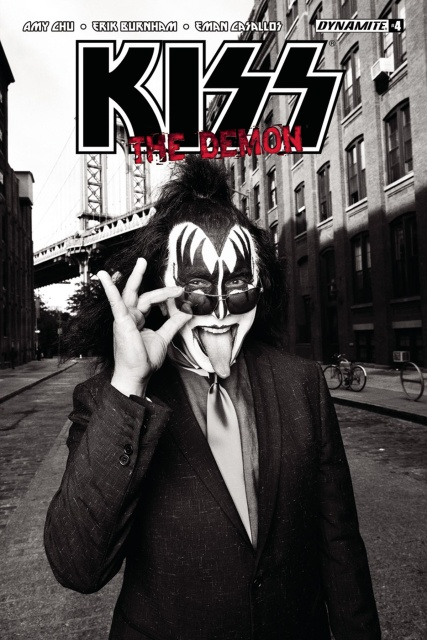 KISS: The Demon #4 (Photo Cover)