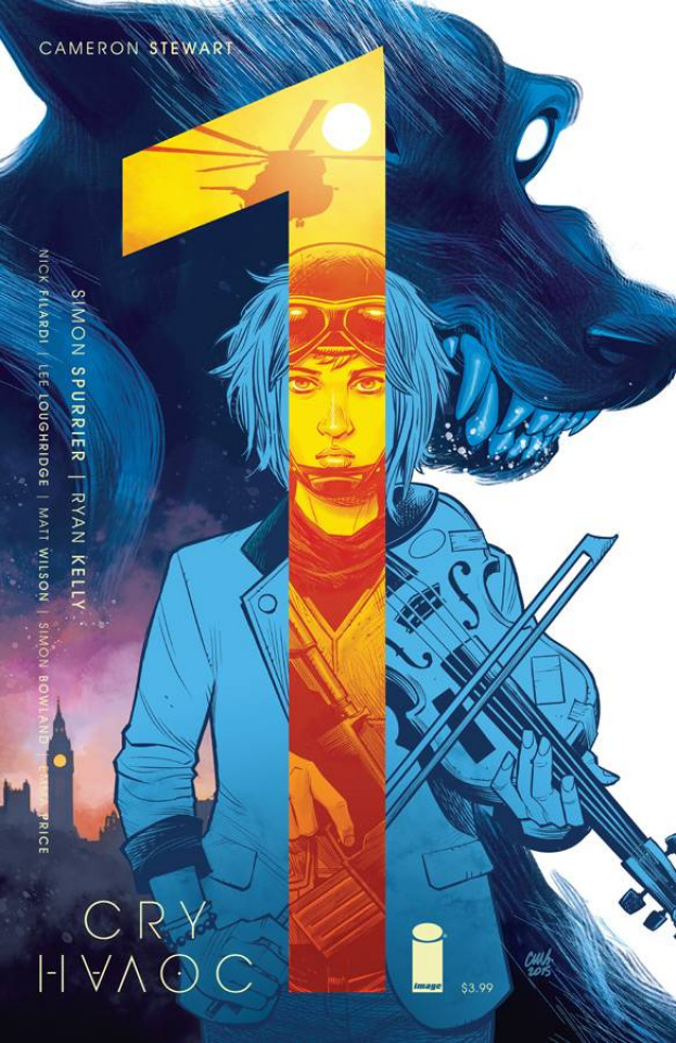 Cry Havoc #1 (Stewart Cover)