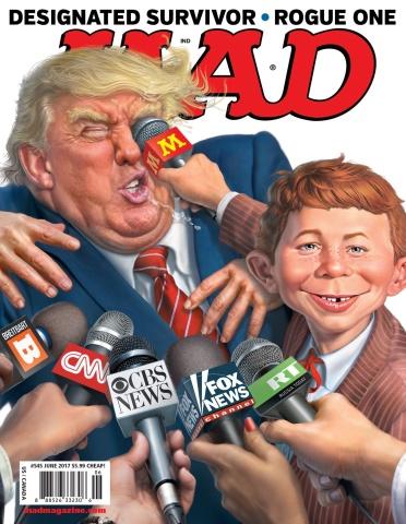 MAD Magazine #545