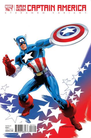 Captain America: Sam Wilson #7 (Steranko Cover)