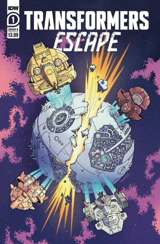 Transformers: Escape #1 (Winton Cover)