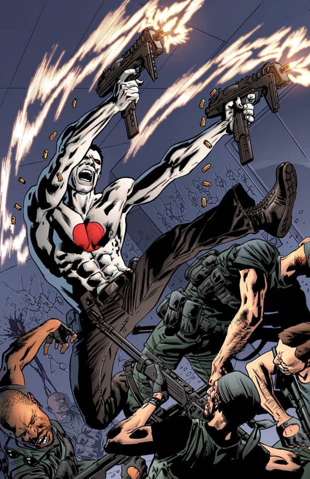 Bloodshot #25 (50 Copy Hitch Cover)