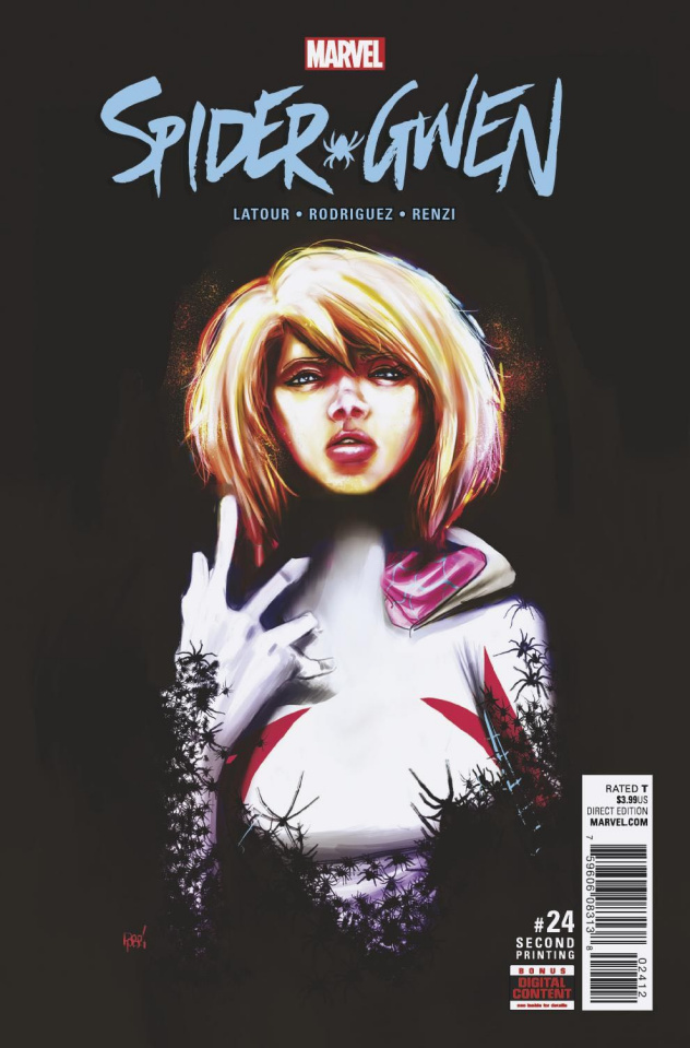 Spider-Gwen #24 (2nd Printing Rodriguez Cover)