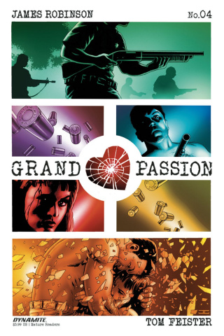 Grand Passion #4 (Cassaday Cover)