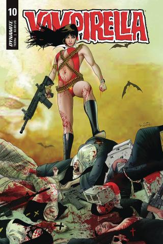 Vampirella #10 (Gunduz Cover)