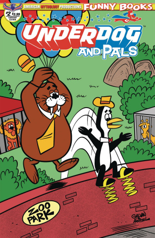 Underdog and Pals #2 (Galvon Over the Wall Cover)