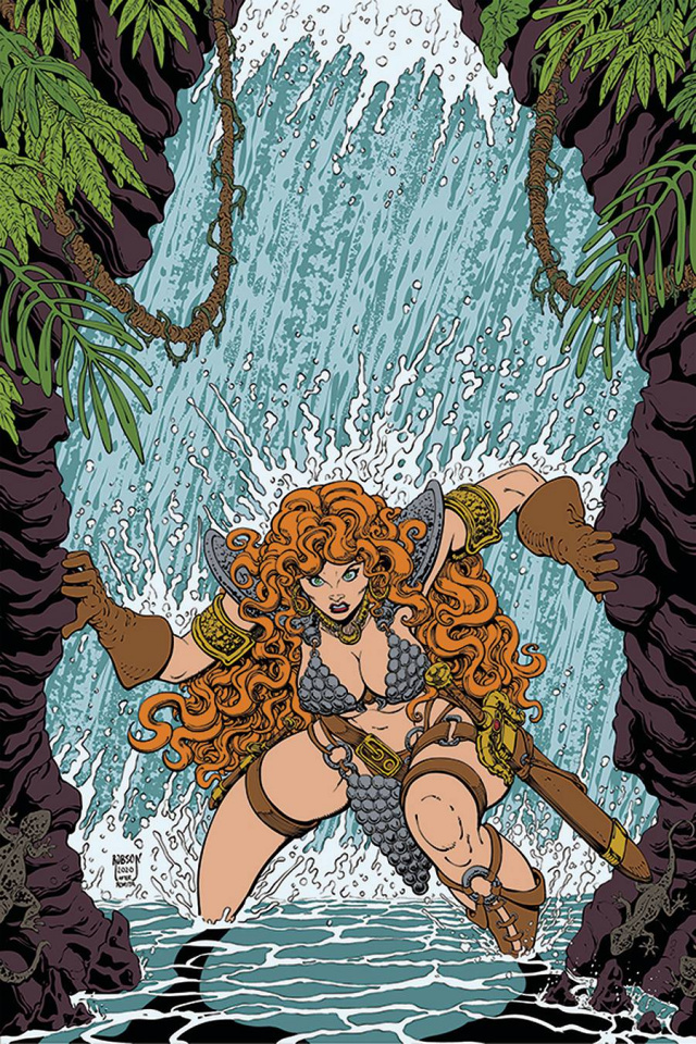 Red Sonja #22 (10 Copy Robson Virgin Cover)