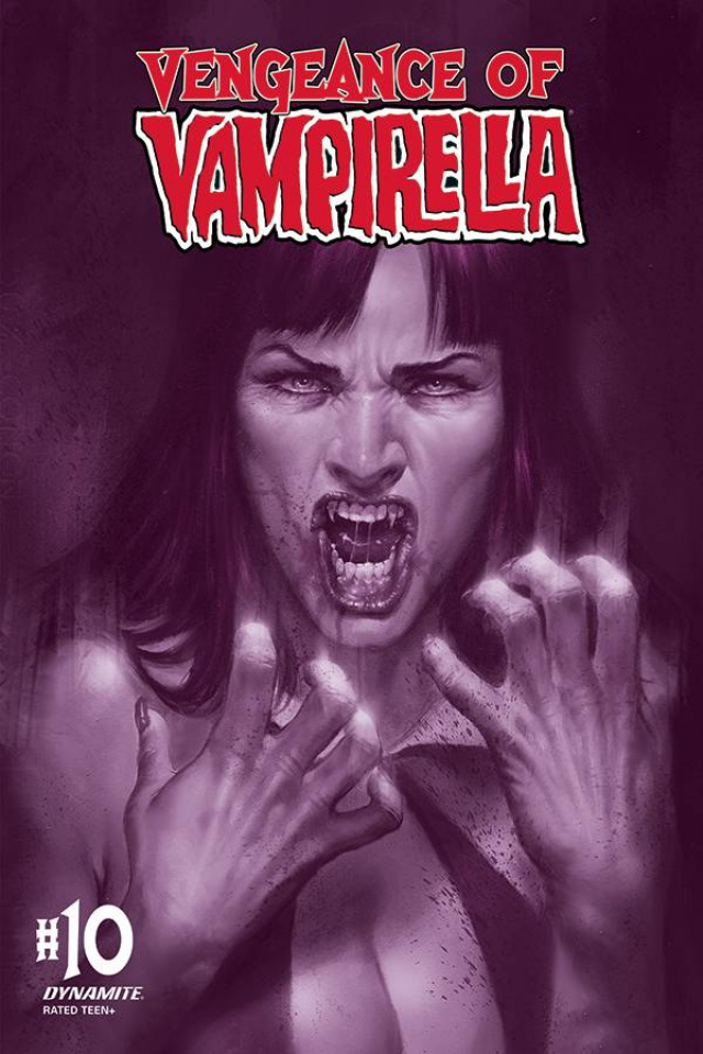 Vengeance of Vampirella #10 (30 Copy Parrillo Tint Cover)