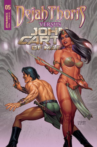 Dejah Thoris vs. John Carter of Mars #5 (Linsner Cover)