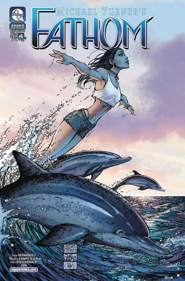 Fathom #4 (Turner Cover)