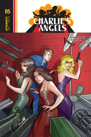 Charlie's Angels #5 (Eisma Cover)