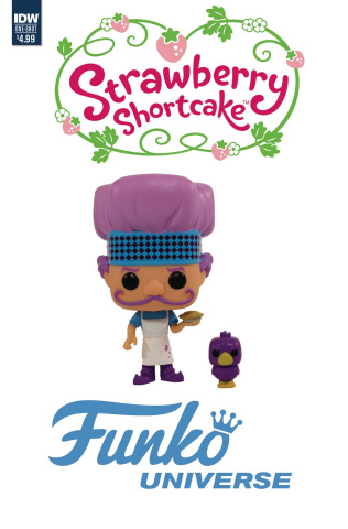 Strawberry Shortcake: Funko Universe (Funko Toy Cover)