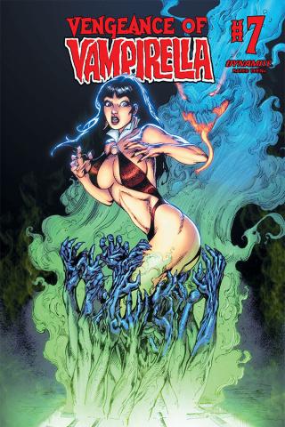 Vengeance of Vampirella #7 (Castro Bonus Cover)