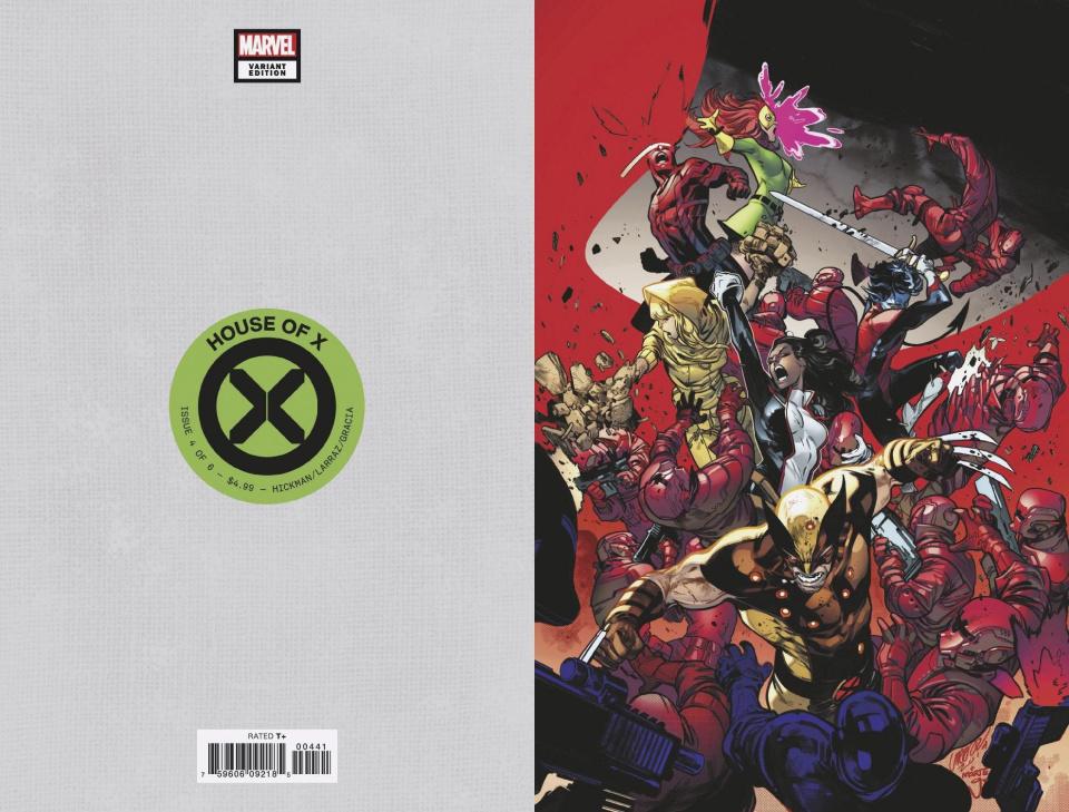 House of X #4 (Larraz Virgin Cover)