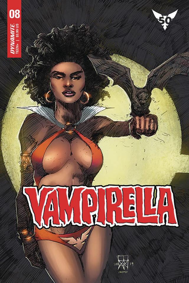 Vampirella #8 (Cowan Cover)
