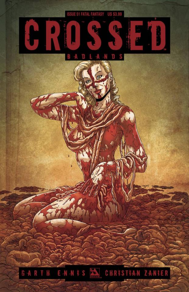 Crossed: Badlands #51 (Fatal Fantasy Cover)
