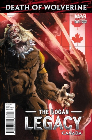 Death of Wolverine: The Logan Legacy #3 (Canada Cover)