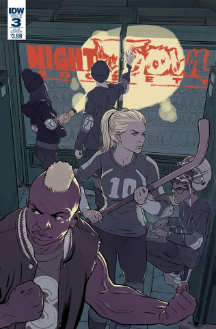 Night Owl Society #3 (Subscription Cover)