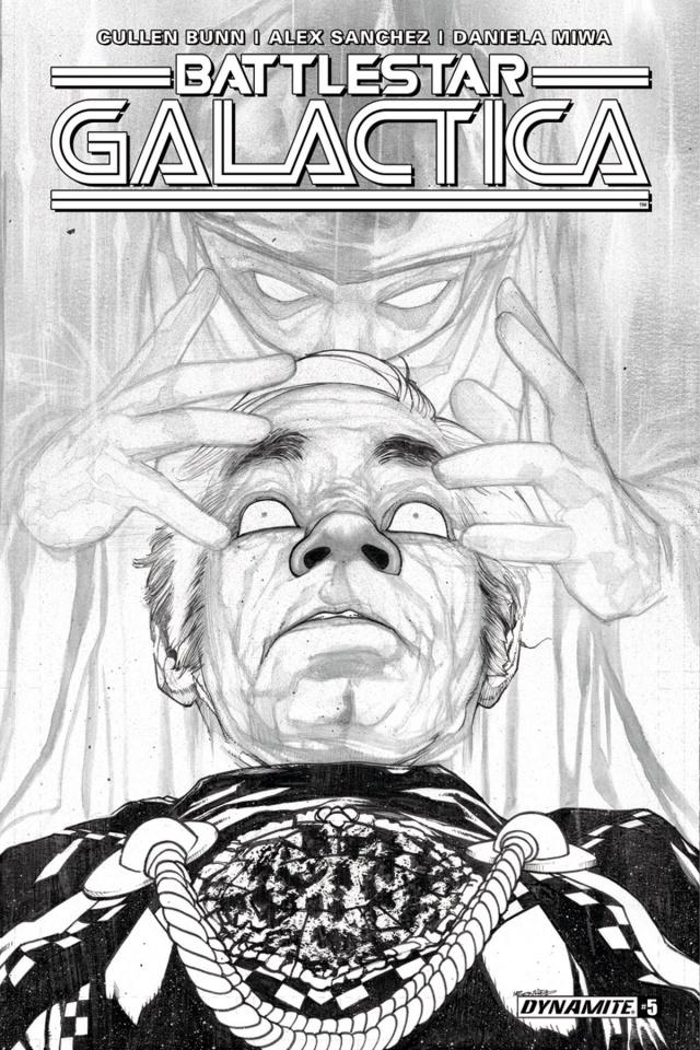 Battlestar Galactica #5 (10 Copy B&W Cover)