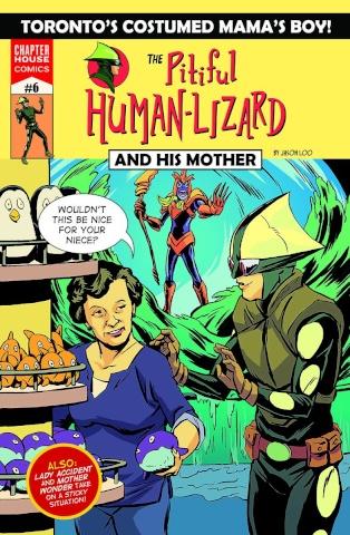 The Pitiful Human-Lizard #6