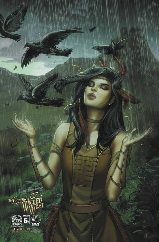 The Legend of Oz: The Wicked West #6 (8 Copy Cover)