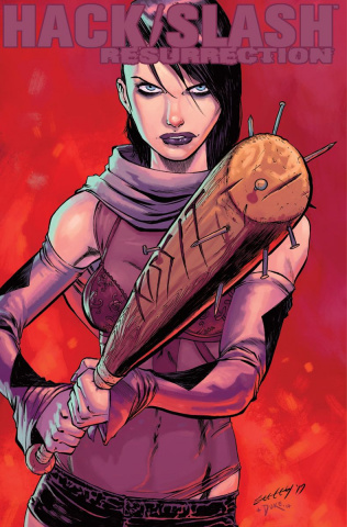 Hack/Slash: Resurrection #4 (Seeley Cover)