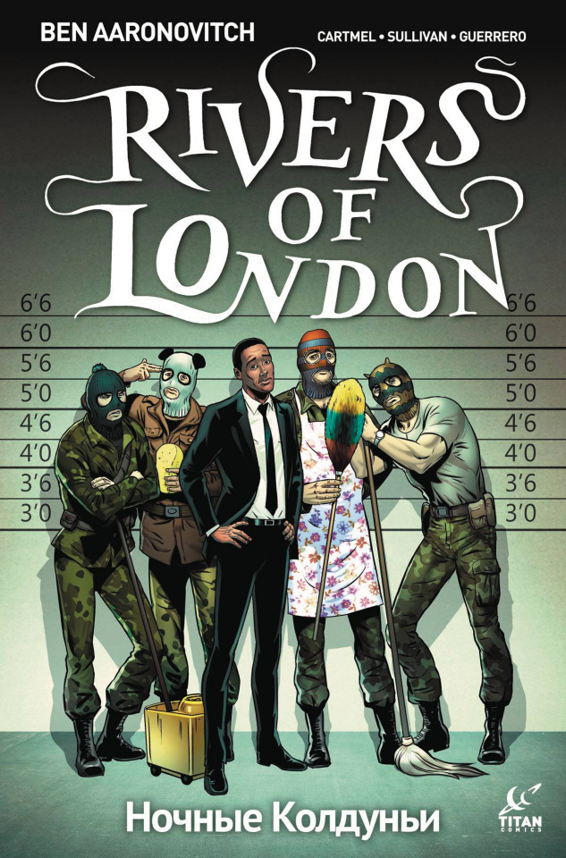 Rivers of London: The Night Witch #4 (Sullivan Cover)