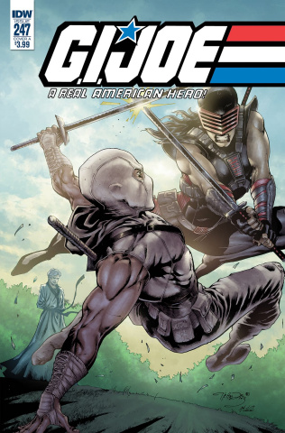 G.I. Joe: A Real American Hero #247 (Diaz Cover)