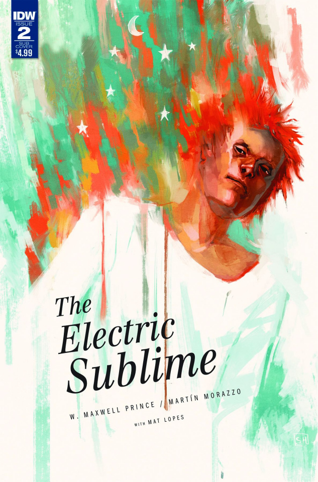 The Electric Sublime #2 (Subscription Cover)