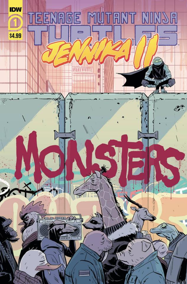 Teenage Mutant Ninja Turtles: Jennika II #1 (Revel Cover)