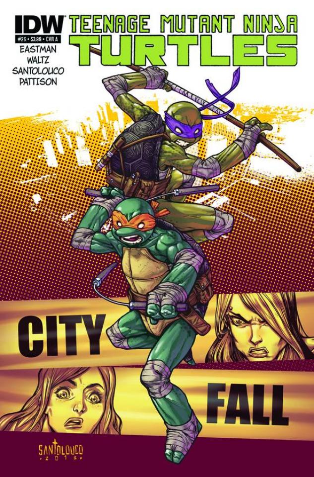Teenage Mutant Ninja Turtles #26