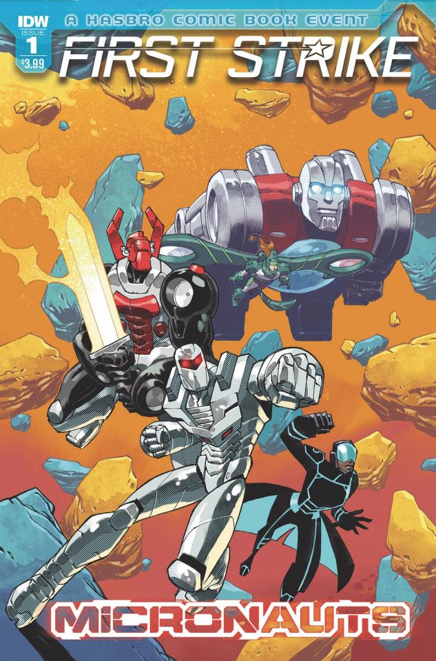 Micronauts: First Strike #1 (Daniel Cover)