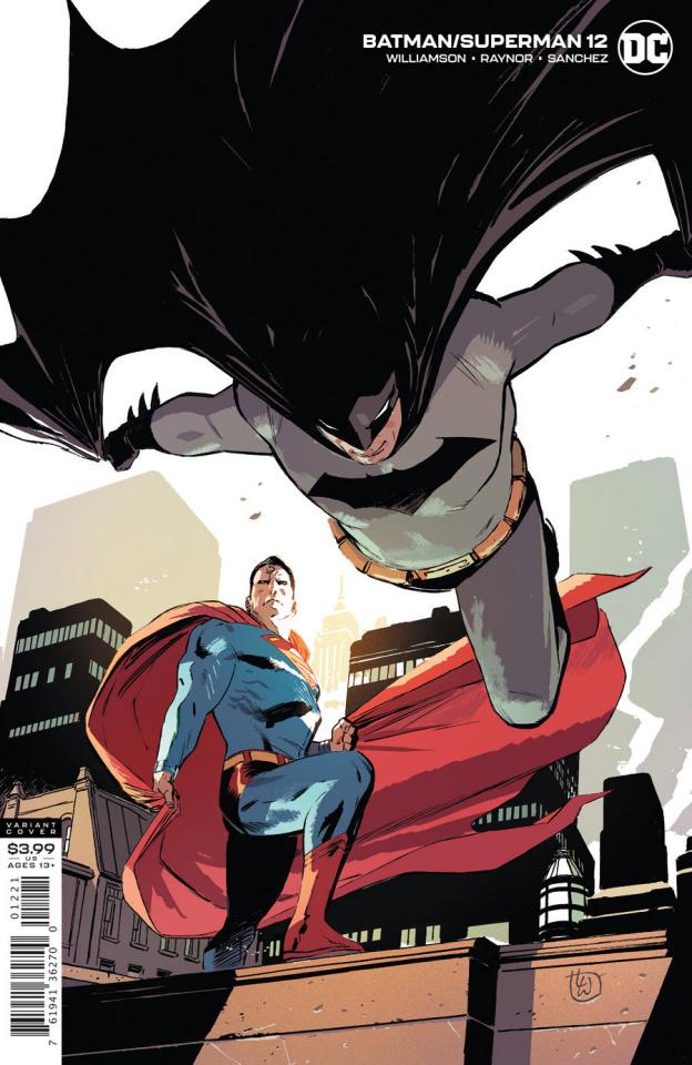 Batman / Superman #12 (Lee Weeks Cover)