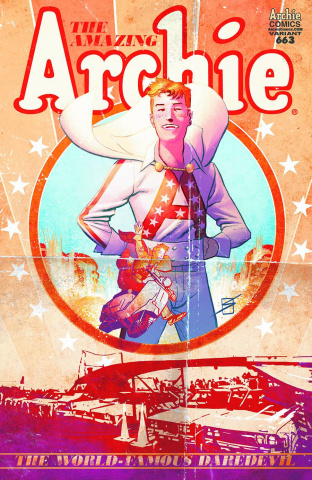 Archie #663 (Knievel Poster Cover)