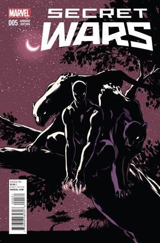 Secret Wars #5 (Campbell Cover)