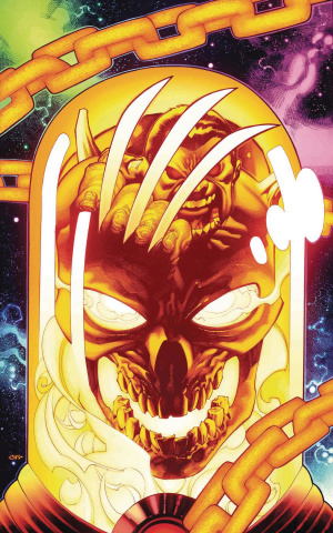 Weapon H #7 (Stevens Cosmic Ghost Rider Cover)