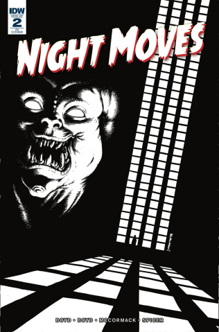 Night Moves #2 (10 Copy Burnham Cover)