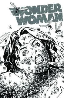 Wonder Woman #16 (Black & White Cover)