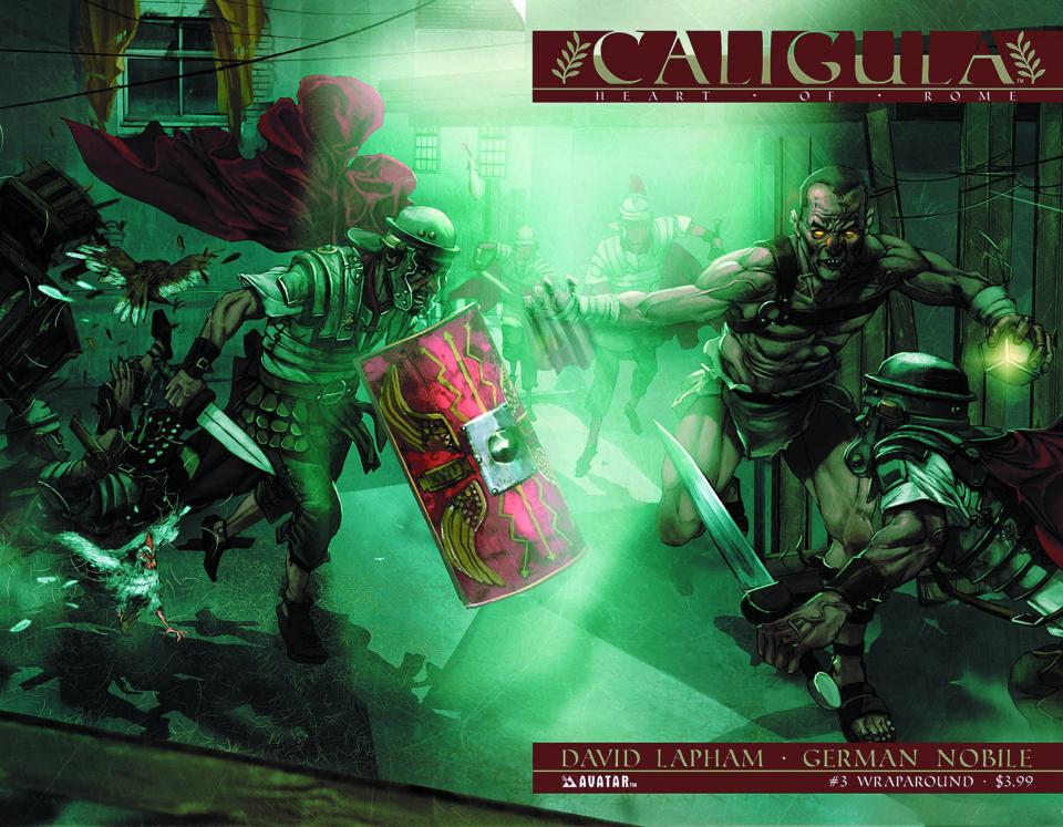 Caligula: Heart of Rome #3 (Wrap Cover)